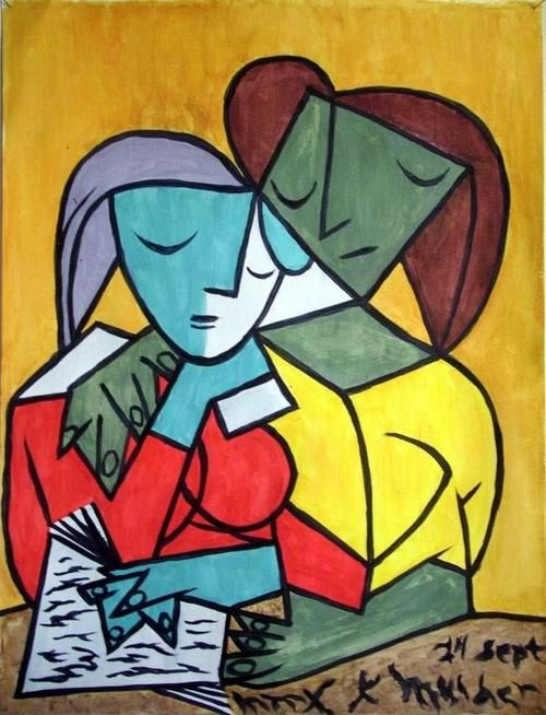 The Gift of Uncertainty, Two Girls Reading, Picasso